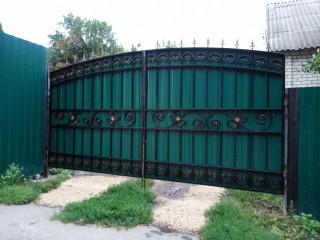 ворота с профлистом